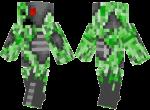 Creeper-Cyborg-Skin