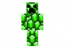 Emerald-creeper-skin