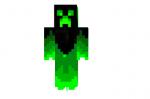 Green-fire-creeper-skin