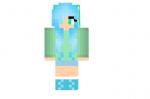 Blue-and-green-apple-girl-skin