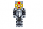 Medieval-knight-with-a-helmet-skin