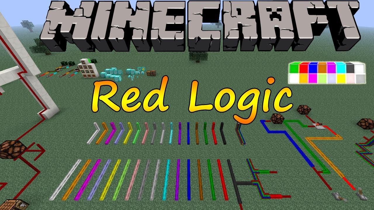 Redlogic Mod 1710 172 164 152 Minecraft Redstone Circuits