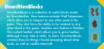 Unwrittenblocks-mod