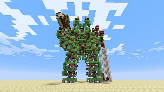 Mega Gargantua Map 1 8 Mod Minecraft Net