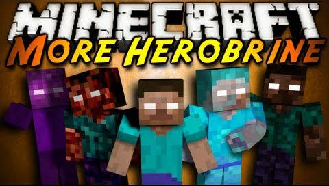 how to use herobrine mod