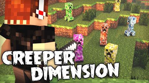 Creeper Dimension Mod Minecraft Mods - Minecraft teleport player to dimension
