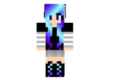Electric disco girl skin mod - Cool girl skins for minecraft pe ...