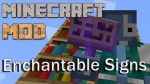 Enchantable-Signs-Mod