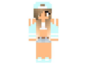 Minecraft Skin Tomboy Girl Bukalah E