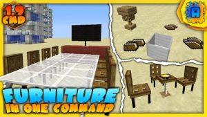 Furniture Command Block 194 19 By IJAMinecraft