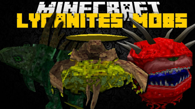 Lycanites Mobs Mod The Mod Adds Many New Mobs To Minecraft