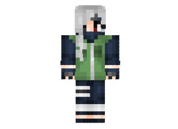 Kakashi Girl Skin for Minecraft   Minecraft Skins