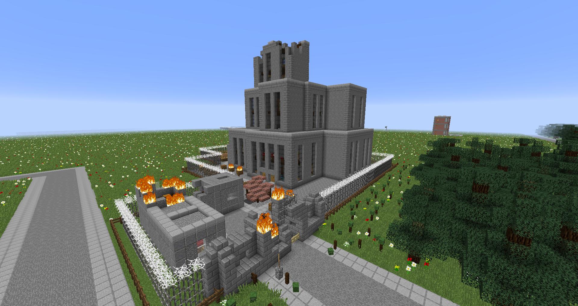 Zoombie Apocalypse II: Aftermath Map 1.11.2 | Minecraft Maps