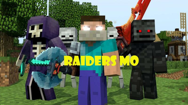 Raiders Mod For Minecraft ModMinecraftnet - Minecraft namen andern mojang